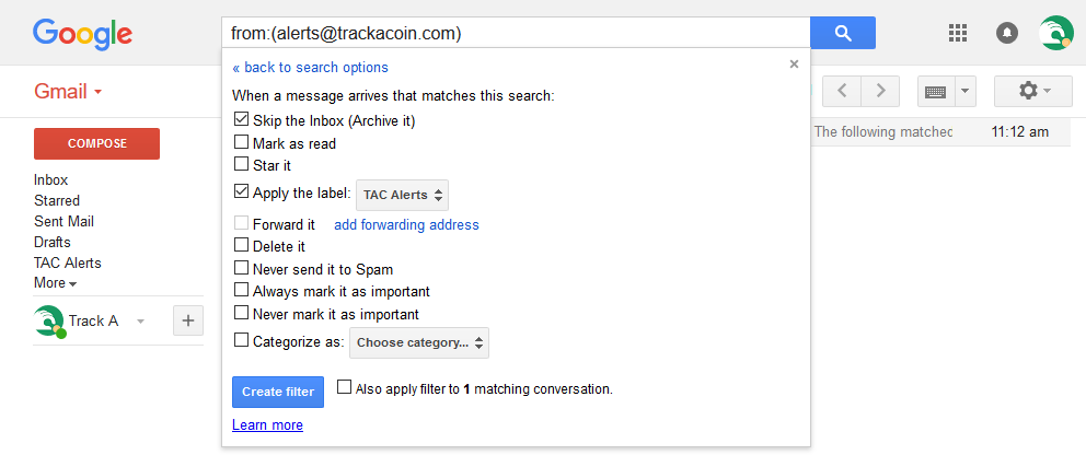 gmail config 2