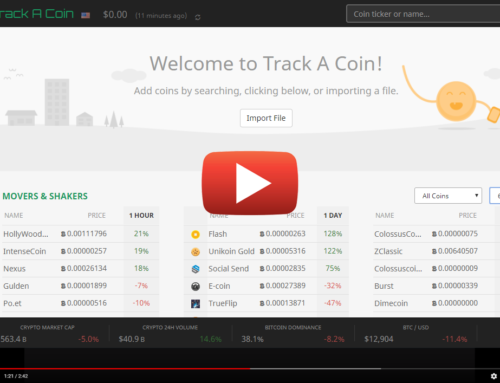 Video Tutorials – import crypto holdings, trading alerts, crypto analytics, recover cost basis