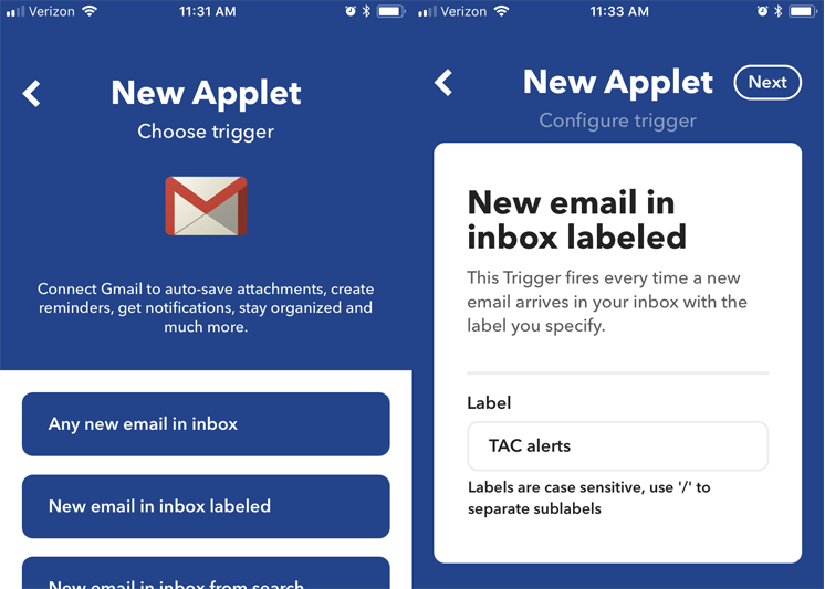 how to reactivate a delete applet on ifttt